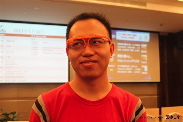 Google哭了:3D打印版Google眼镜现身中国 的图片 热戴网